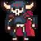 Sprite entities foe skeleton knight 01