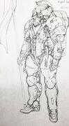 Ludens early sketch art 05