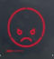 Angry Face Sign