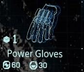 Power gloves fab menu