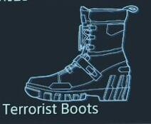 Terrorist boots