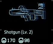 Shotgun Lv2 fab menu