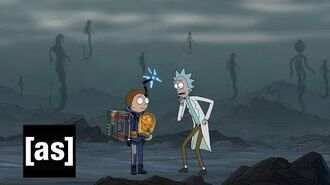 Rick and Morty x Death Stranding AD