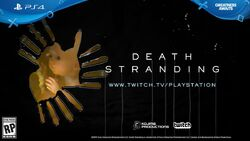 Twitch Stream PS4 Death Stranding