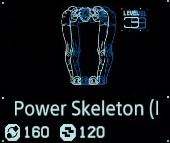 Power skeleton Lv3 fab menu