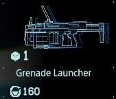 Grenade launcher fab menu