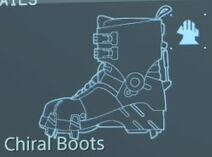 Chiral boots 2