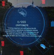 Cryptobiote inventory