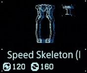 Speed skeleton Lv1 fab menu