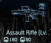 Assault rifle Lv2 fab menu