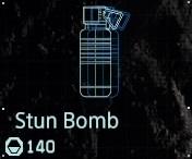 Stun bomb fab menu