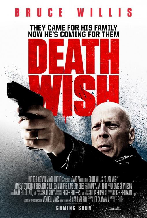 Critics reviewing Death Wish give it a thumbs down… see why.