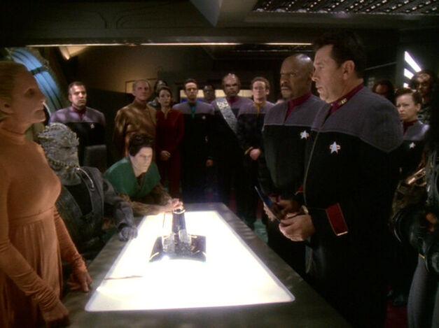 Star Trek species including Humans, Klingons, Cardassians, Bajorans, Founders, Jem Hadar, and Vorta