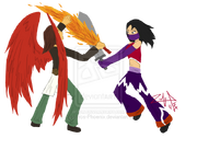 Request daria vs aveilla by zephyros phoenix-d3lkbp8