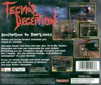Deception cover back
