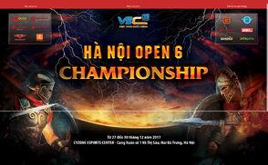 2017 Hanoi Open 6 new