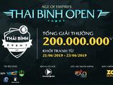 Thái Bình open/2019