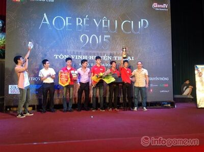 2015 Be Yeu team GameTV