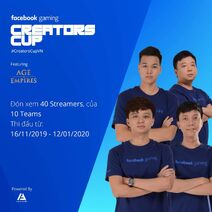 AOE Facebook Gaming Creators Cup 2019