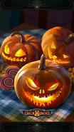 Pumpkin backdrop