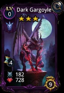 Dark Gargoyle creature card