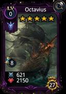 Octavius creature card