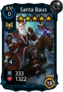 Santa Baus creature card