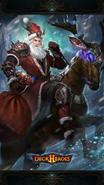 Santa Baus backdrop