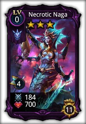 Necrotic Naga