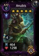 Anubis Creature card