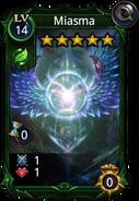 Miasma skill card
