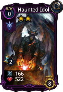 Haunted Idol creature card