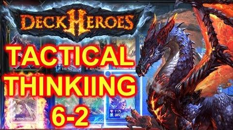 DECK HEROES Tactical Thinking - Beating Dungeon 6-2 (Hard) Game Mechanics