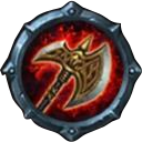 Talent axe icon