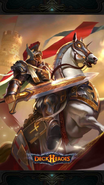 H-Divine Knight-Backdrop
