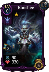 Banshee creature card