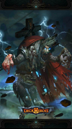 Zombie King backdrop