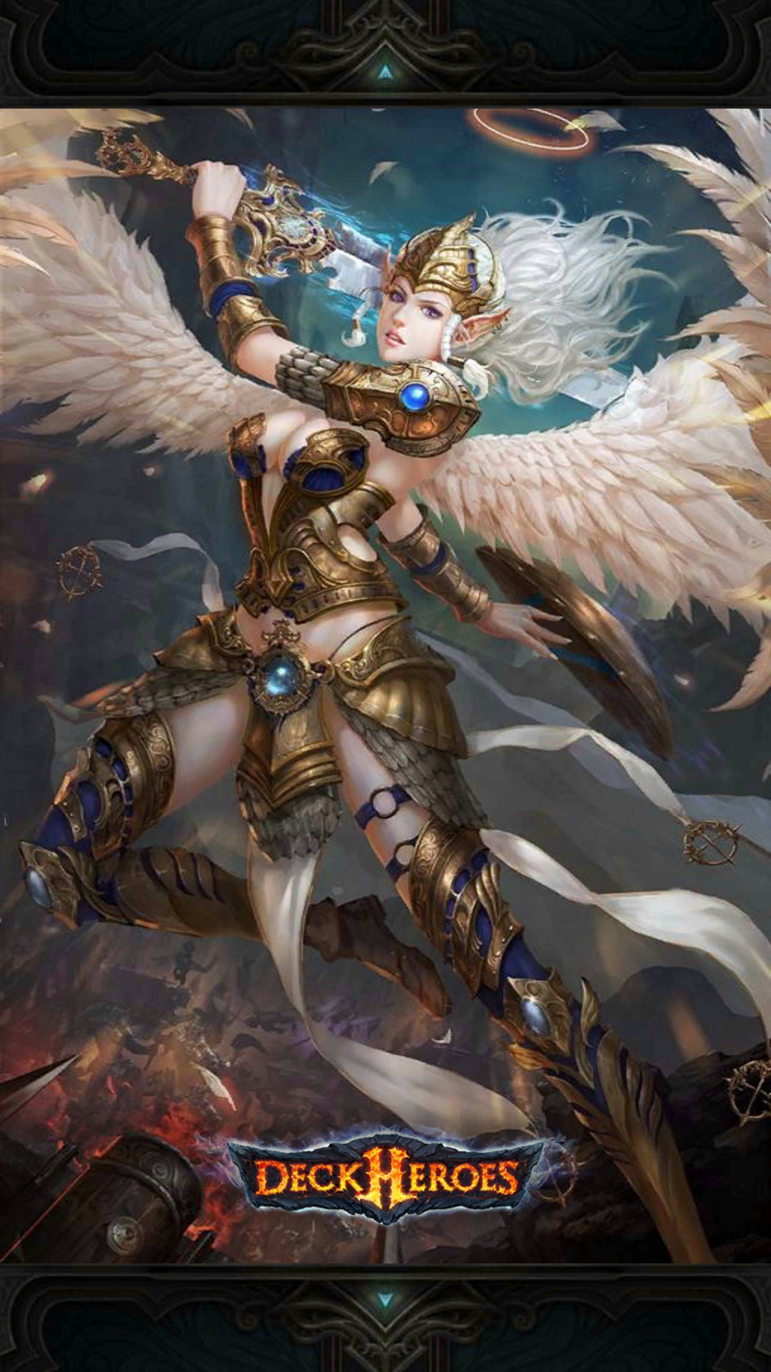 image valkyrie backdrop png deck heroes wiki fandom powered