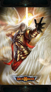 Sentry angel backdrop