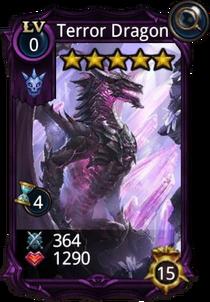 Terror Dragon creature card