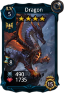 Dragon creature card