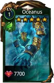 Oceanus hero card