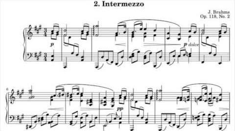 Brahms - Intermezzo in A major, Op. 118 No. 2 (Stephen Kovacevich) - 1981