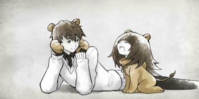 5 Yawning Lion