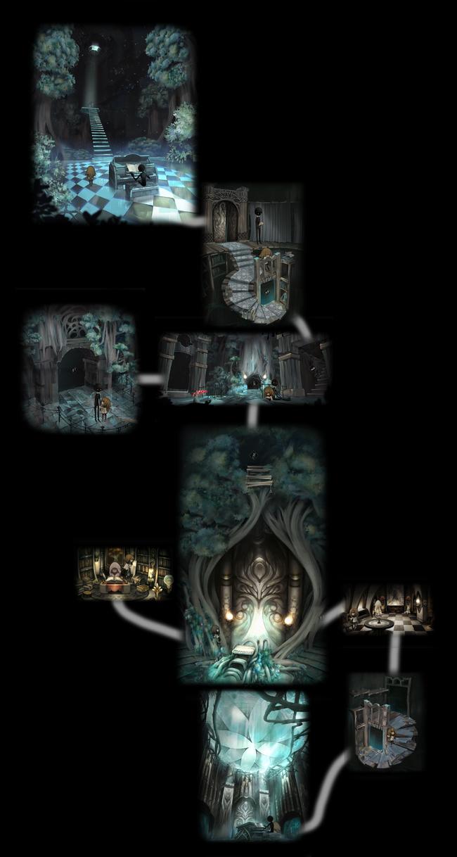 Deemo room map -v1-
