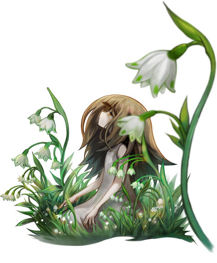 Spring Snowflake Flower