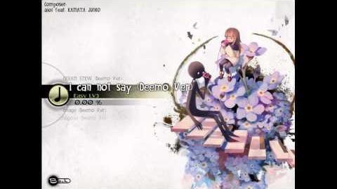 Deemo 2.0 - aioi feat. KAMATA JUNKO - I Can Not Say(Deemo Ver.)