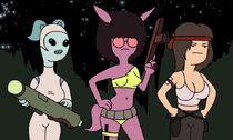 Girls troopers