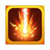 Красный лазер (иконка)