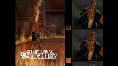 Def Jam Fight For NY (Sticky Fingaz) Trailer